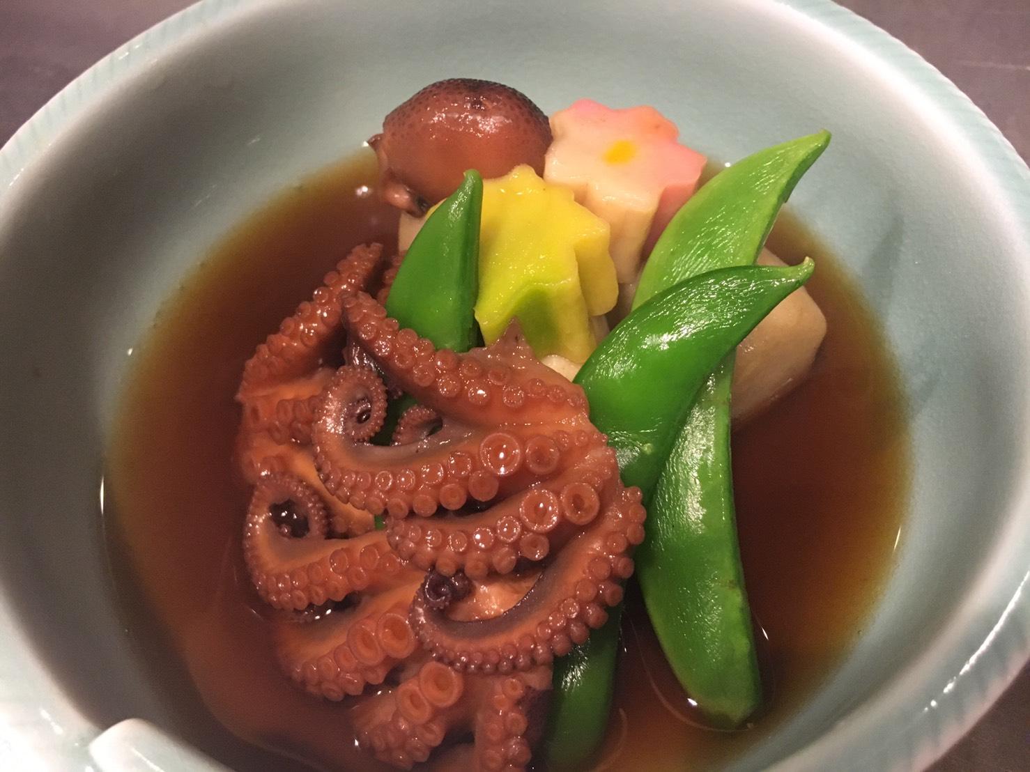 飯蛸と里芋の煮物