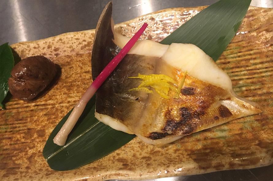 マナガツオ柚香焼